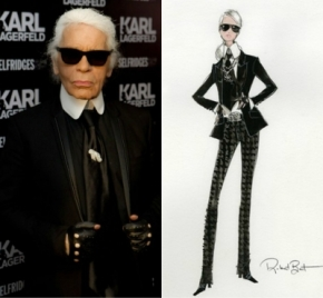 Lagerfeld Does Barbie
